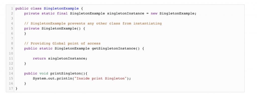 Singleton Design Pattern using Java - Android - Java - Kotlin - BLOG