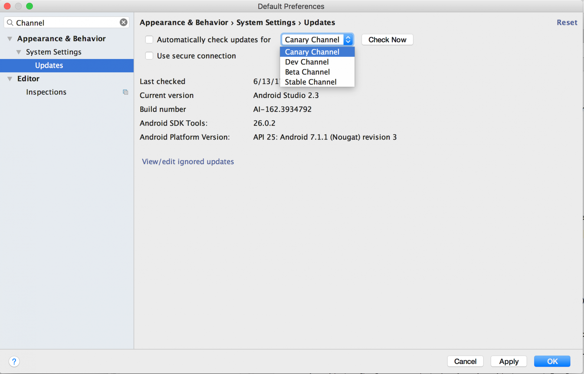 Install Android Studio Canary Version Alongside Your Stable Version For Kotlin